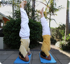 Sirshasana - headstand yoga pose
